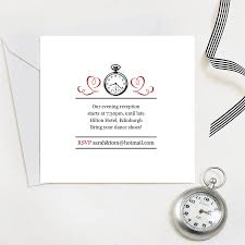 wedding table setting exles evening reception wedding invites by quirky gift library