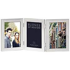 burnes of boston photo albums burnes of boston c53346 hnged picture frame 4