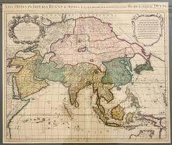 map asie asia l asie de l isle c 1721bartele gallery