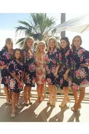 bridesmaids robes cheap cotton bridesmaid robes cheap unique bridesmaid gifts navy kimono