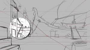 bg layout artist animation concepts 202 creating backgrounds 9 drawing the layout
