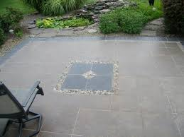Outdoor Concrete Patio Designs Pleasant Design Outdoor Flooring Options Concenrete Concrete