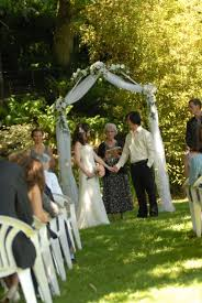 wedding arches outdoor wedding arch help weddingbee