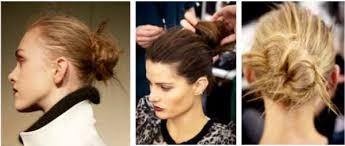 comment cuisiner les chignons frais coiffure de défilé comment faire un chignon flou le journal beauté
