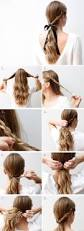 Easy Hairstyle Tutorials For Long Hair by 415 Best Hair Images On Pinterest Hairstyles Chignons And Braids