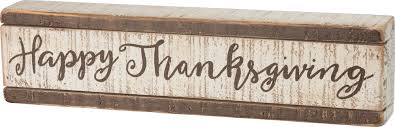 slat box sign happy thanksgiving shop all products