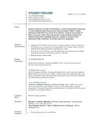 objective for an internship resume college student internship resume objective template exles high