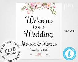 wedding welcome sign template welcome wedding sign template wedding welcome sign welcome