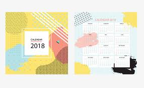 cute fashion 2018 desk calendar templates calendar 2018 single