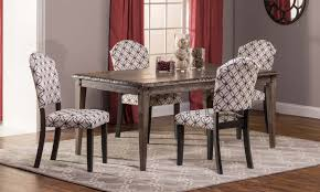 hillsdale lorient 5 pc rectangle dining set with parsons chair hillsdale lorient 5 pc rectangle dining set with parsons chair washed charcoal gray black