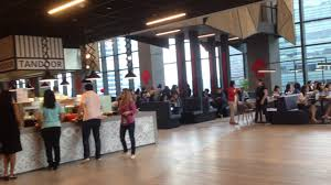 food court for employee at new google singapore office youtube