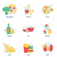 drink vector food and drink vector icons set modern flat style royalty free
