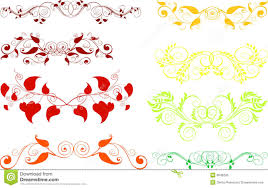 ornaments design elements stock photos image 6646203