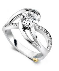 design an engagement ring kismet contemporary engagement ring schneider design