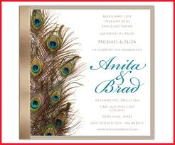 peacock invitations inspirational peacock wedding invitations image of wedding