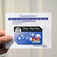 prepaid cards for gift prepaid cards clean machine car wash