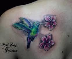 tiny hummingbird tattoos