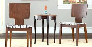 dining table small circular dining table chairs piece set wooden