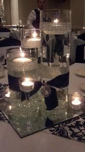 black and white centerpieces adornos de mesa ideas para hacer en cinco minutos white