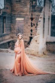 Fitted Maternity Dresses Avery Maternity Dress Vintage Bronze Fitted Maternity Cape Gown
