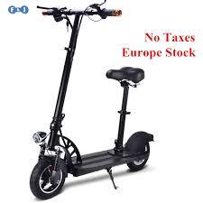 si e enfant scooter flj puissant adulte scooter électrique avec siège 10 pouces roues