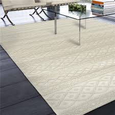 5x8 Outdoor Patio Rug by 3911 5x8 Orian Rugs 3911 5x8 Indoor Outdoor Border Aviva Gray