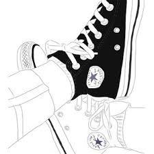 art converse drawing we heart it drawings pinterest converse