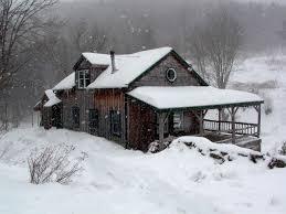 Winter House Cabin Winter Cabin Cabin And Winter