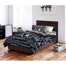 NFL Oakland Raiders Bed In A Bag Complete Bedding Set Walmartcom - Oakland bedroom furniture