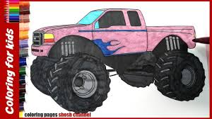 truck coloring pages for kids from coloring pages shosh channel