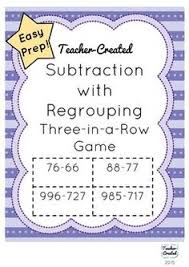 double digit subtraction with regrouping two digit subtraction