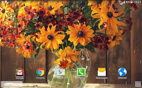 autumn flower live wallpaper android apps on google play