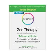 rainbow light multivitamin side effects amazon com rainbow light zen therapy 30 count stress management