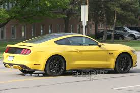 Mustang Yellow And Black 16 Black Accent Package Mustang Forum Uk