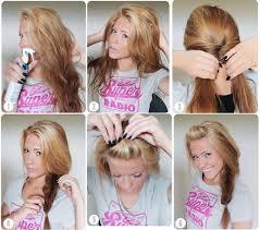 Sch E Frisuren Zum Selber Machen Bilder by Einfache Alltags Frisuren Selber Machen Trendige Kurzhaarfrisuren
