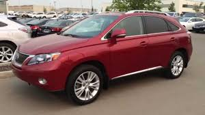lexus rx 400h certified pre owned lexus certified pre owned 2011 rx 450h hybrid in red touring