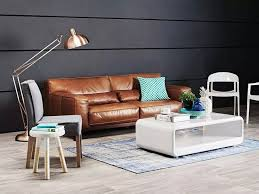 Leather Lounger Sofa 15 Photo Of Leather Lounge Sofas