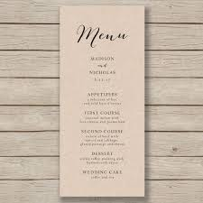 wedding bar menu template best 25 wedding menu template ideas on wedding dinner