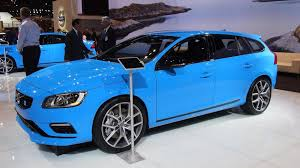 volvo official volvo s60 u0026 v60 polestar shown in chicago have 345 bhp