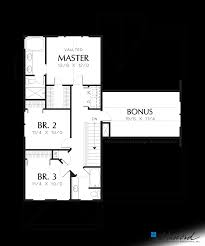 colonial plans upper floor plan of mascord plan 2164 the somersetter classic