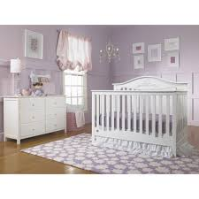 Convertible Cribs Cheap by Fisher Price Mia 4 In 1 Convertible Crib Snow White Walmart Com