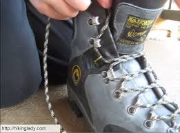 s boots with laces how to lace hiking boots to prevent heel blisters