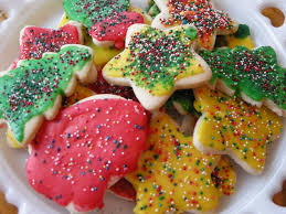 cut out cookies for santa southern plate