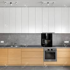 grey kitchen cupboards with black worktop grey kitchen with wooden cabinets granite worktop and white