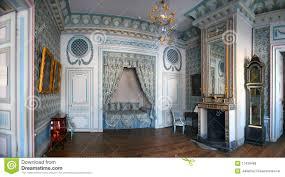 Blaues Schlafzimmer Blaues Schlafzimmer In Kuskovo Redaktionelles Stockfoto Bild