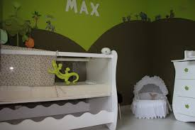 chambre jungle enfant chambre savane jungle photo 5 6 autre vue du lit auquel on a