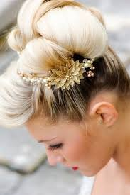 paris hilton sophisticated sleek retro updo hairstyle for wedding