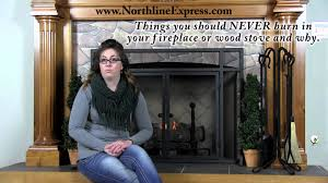 items you should never burn in your fireplace or wood stove and
