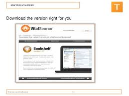 Vital Bookshelf Login Vitalsource Tips And Tricks