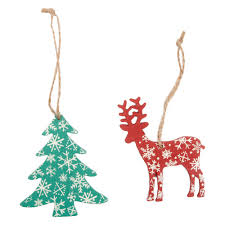 wholesale christmas printed wooden decorations discount wholesale